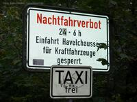 Nachtfahrverbot Havelchaussee