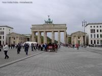 Brandenburger Tor am Pariser Platz in Berlin