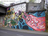 Graffiti von Rabbit Eye Movement in Berlin